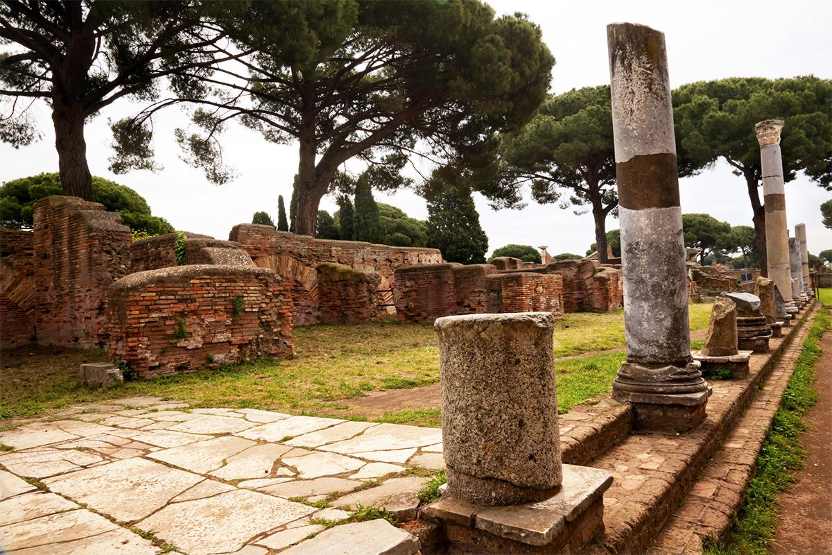 Escursioni guidate scavi di Ostia Antica